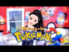 How to Make a Doll Room in a Box: POKEMON - Doll Crafts - YouTube