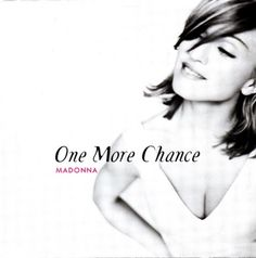 """For Sale - Madonna One More Chance - Poster Sleeve UK  CD single (CD5 / 5"""") - See this and 250,000 other rare & vintage vinyl records, singles, LPs & CDs at http://eil.com"""