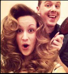Retro hair brush out