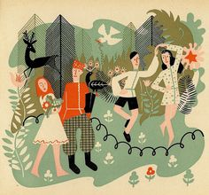 Dancing in the woods by arthurvankruining, via Flickr
