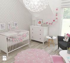 Aranżacje wnętrz - Pokój dziecka: Pokój Julki - Średni pokój dziecka dla dziewczynki dla niemowlaka, styl skandynawski - JMJ Interiors. Przeglądaj, dodawaj i zapisuj najlepsze zdjęcia, pomysły i inspiracje designerskie. W bazie mamy już prawie milion fotografii!