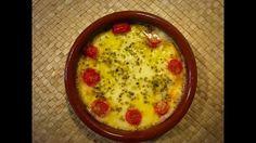 Provolone al horno con tomate