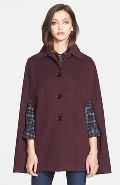 Free shipping and returns on Helene Berman Wool Blend Cape at Nordstrom.com. A lush Italian wool blend includes ultrasoft cashmere yarns to complement the voluminous, sophisticated fit of a collared cape.