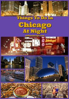 Chicago at night - top activities to see the city lights
