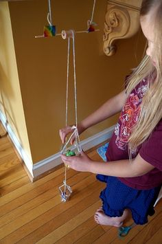 Great Simple Machine Ideas! This link provides the teacher with a variety of simple machine creations that could be done in the classroom or at home.