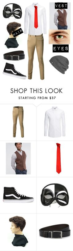 """""""Untitled #135"""" by mitza0103 ❤ liked on Polyvore featuring Joseph, ASOS, Versace, Vans, Masquerade, HUGO and Outdoor Research"""