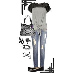 Spring by cindy32tn on Polyvore featuring Oasis, MICHAEL Michael Kors, Coach, Emporio Armani and Jamie Jewellery