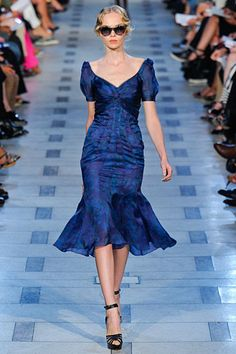 Zac Posen Spring 2012 RTW - there were just too many pretty dresses in this collection to count.