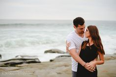 Wind and Sea La Jolla Engagement Session Engagement Session Photo by Alon David Photography San Diego Top Wedding Photography Studio Beach Engagement, Engagement Session, Engagement Photography, Wedding Photography, San Diego Beach, La Jolla, Beach Dresses, Studio, Couple Photos