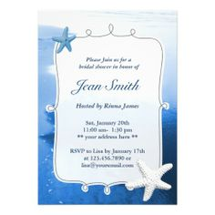 Free Beach Theme Invitation Templates Shower Invitation Free - Beach theme bridal shower invitation template