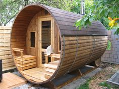 barrel sauna kits - Google Search