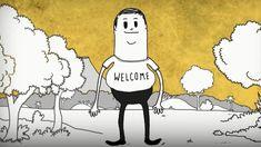 Man by Steve Cutts  Man é um curta metragem animado muito bem feito, com roteiro brilhante, direção fantástica e que faz refletir bastante; o projeto de Steve Cutts demonstra a total despreocupação que o homem tem tido com o local que habita, a Terra. Com bom humor, se é que dá pra ter, Steve conta uma história que estamos vivendo e muitos locais já acordaram que ela precisa ser revertida.  [...]  http://fastfoodcultural.com.br/man-by-steve-cutts