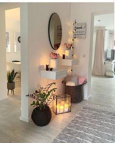 decor glam Interior Design & Home Decor Home Room Design, Home Interior Design, Living Room Designs, House Design, Interior Architecture, Living Room Decor Cozy, Home Living Room, Bedroom Decor, Entryway Decor