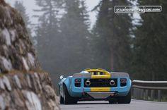 Eher für Le Mans gebaut als für Bergrennen - Lola T70 MK 3 LM (1968) an der Arosa ClassicCar 2014.  © Balz Schreier für Zwischengas