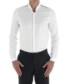 The Kooples Stand-up collar shirt - Shirt - Man