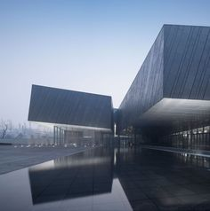 The Exhibition Hall of Crime Evidences in Harbin,Building entrance. Image © Yao li