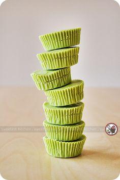 Matcha Green Tea White Chocolate Pistachio Cups | Flickr - Photo Sharing!
