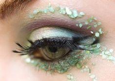 Seashell makeup. @Cayse Meyers-Tabor Meyers-Tabor Lazier