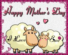 A simple and sweet card for mum on her special day. Free online Mum I Love 'Ewe&rsquo ecards on Mother's Day Birthday Cards For Mother, Mum Birthday, Mother Day Wishes, Happy Mothers Day, Big Hugs For You, Love Hug, Mom Day, Flower Quotes, Love You Mom