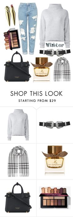 """sweater weather 3.0"" by libil ❤ liked on Polyvore featuring Le Kasha, Topshop, Burberry and Christian Louboutin"