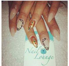 Stiletto Nails - Leopard