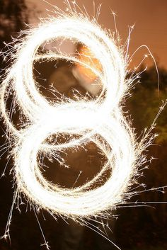 2 of my favorites! #8 and sparklers!!!!