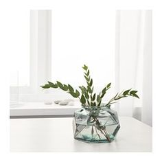 IKEA - GENERÖST, Vase, The unique shape makes the vase beautiful both with and without flowers.