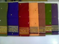 Caring for sarees