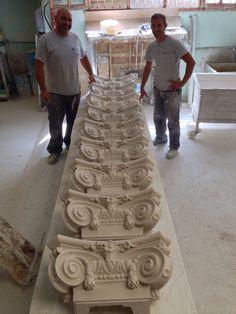 Pedido de CAPITELES para Restauración en Barcelona