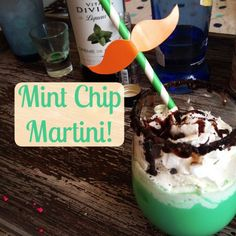 mint chip martini