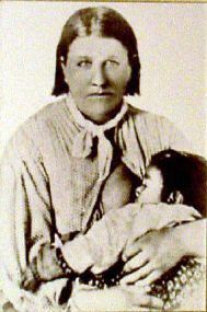 Texan Cynthia Ann Parker(1827-1870) captured as a girl by the Comanches in 1836 and became mother of Comanche War Chief Quanah Parker.The Dutch writer Arthur Japin also wrote a beautiful book, De Overgave (The Surrender), about the life of the Parker family and the loss of Cynthia Ann.