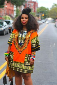 Traditional Dashiki Print Short Sleeve African Top