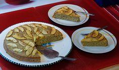 #Kuchen mit #Apfel und #Zimt