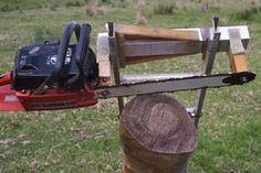 Eddie's chain saw mill