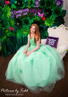 Everything you can imagine is real! This magical fairy mitzvah did not disappoint! Bat Mitzvah Party, Ball Gowns, Fairy, Entertaining, Formal Dresses, Celebrities, Pictures, Photography, Fitted Prom Dresses