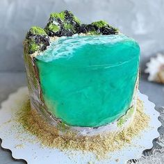 Ocean Cakes, Beach Cakes, Crazy Cakes, Fancy Cakes, Pink Cakes, Gorgeous Cakes, Amazing Cakes, Fun Desserts, Delicious Desserts