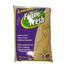 Feline Fresh Clumping Pine Cat Litter 17 lbs ** Learn more by visiting the image link.