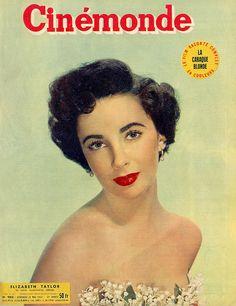 Elizabeth Taylor Vintage Magazine Cover