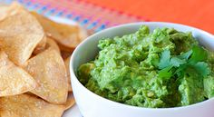Skinny guacamole recipe! I like to add jalapeno's and red onions to mine though!
