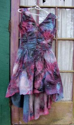 Galaxy Dress. - CRAFTSTER CRAFT CHALLENGES