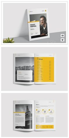 Project Proposal Template #proposal #brochure #template #indesign