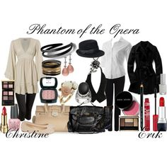 """""""Phantom of the Opera Outfits"""" by emilygracey on Polyvore"""