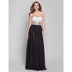 A-ligne sweetheart parole longueur robe de soirée en mousseline de soie (632 779) – CAD $ 199.43