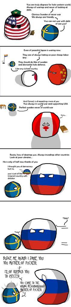 Sweden Stronk!