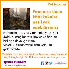 Mutfakta ve ev işlerinizde hayatınızı kolaylaştıracak püf noktaları Yemek Kulübüm'de http://yemekkulubum.com/puf-noktasi #fırın #koku #tava #sirke #sirkeli #yemekkulubum #yemek #tarif #yemektarifleri #yemektarifi #püfnoktası #mutfak #pratik #mutfakişleri #evişleri #evişi #ipucu #ipuçları #pratikbilgiler #püfnoktaları #faydalıbilgiler #temiz #temizlik