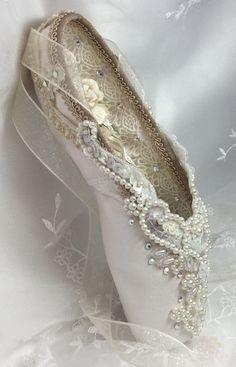 Ready to Ship. Pointe Shoes, Ballet Shoes, Ballet Dancers, Toe Shoes, Bridal Shower Decorations, Wedding Decorations, Dance Crafts, Ballet Crafts, Nutcracker Decor