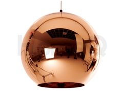Replica Tom Dixon Copper Shade Pendant Light - 30cm