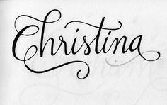 My name is Christina...