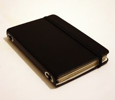 studio-sweepings: I like the Midori Traveler's Notebook so much I decided to make a small one...