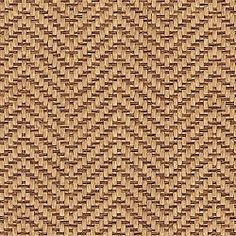Thibaut Natural Resource - Herringbone Weave - Wallpaper - Brown